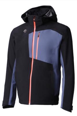 Descente Rage 3L Ski Jacket   Men's   DWMMGK33B   9394   Black/Midnight Shadow   Front