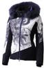Descente Reina Fur Ski Jacket | Women's | DWWMGK01F | 99 | Floral Print | Front