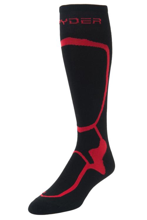 Spyder Pro Liner Socks | Men's | 185204 | 018 | Black