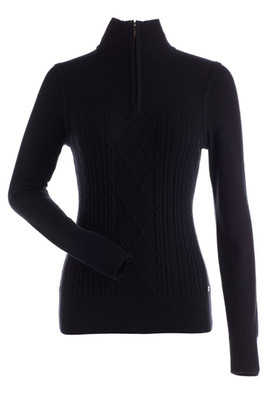 Nils Michele Women's Ski Sweater | 6038 in Black
