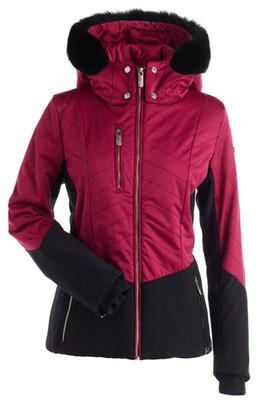 Nils Khaleesi Real Fur Women's Ski Jacket   2608RF in Sunset Pink