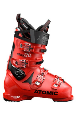 Atomic Hawx Prime 120 S Ski Boots | Men's | AE5017980 | Red/Black | Side view