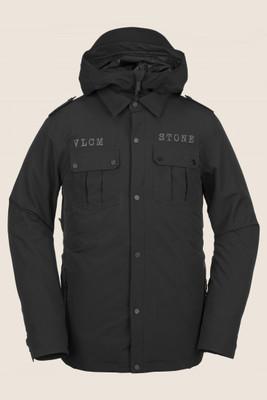 Volcom Creedle2Stone Snowboard Jacket | Men's | G065190619 | Black | Front