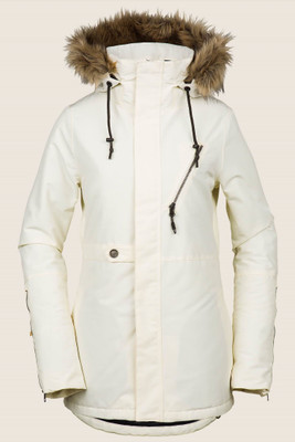 Volcom Fawn Insulated Snowboard Jacket  | Women's | H045190519 | Bone | Front