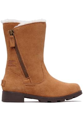 Sorel Emelie Foldover Boot | Big Kids | 1808691 | Camel Brown | Natural | Side
