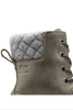Sorel Slimpack II Lace Boot | Women's | 1702251 | Quarry | Black | Top Detail