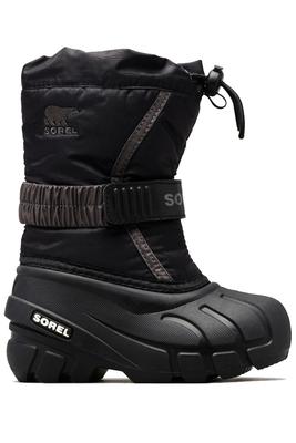 Sorel Flurry Boot | Big Kids | 1638081 | Black | Side