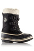 Sorel Yoot Pac Nylon Boot | Big Kids | 1638021 | Black | Side