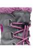 Sorel Yoot Pac Nylon Boot | Big Kids | 1638021 | Chrome Grey | Orchid | Lace Detail