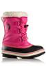 Sorel Yoot Pac Nylon Boot | Big Kids | 1638021 | Haute Pink | Side