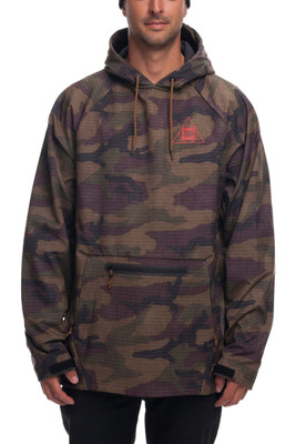 686 Wateproof Hoody |Men's | L8WSCT1319 | Dark Camo | Front