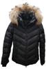 Fire + Ice Sassy-D Ski Jacket | Real Fur | Women's | Black
