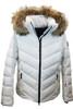 Fire + Ice Sassy-D Ski Jacket | Real Fur | Women's | White