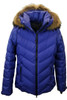 Fire + Ice Sassy-D Ski Jacket | Real Fur | Women's | Blue Lilac