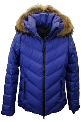 Fire + Ice Sassy-D Ski Jacket | Real Fur | Women's | Blue Lilac