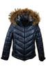 Fire + Ice Sassy-D Metallic Ski Jacket   Real Fur   Women's   Midnight