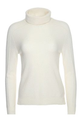 Bogner Vivien-S Cashmere Sweater  | Women's | 816619 | Off White | Front