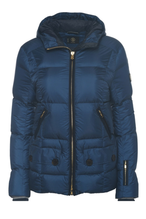 Bogner Miri-D Ski Jacket | Women's | 316319 | Denim Blue | Front
