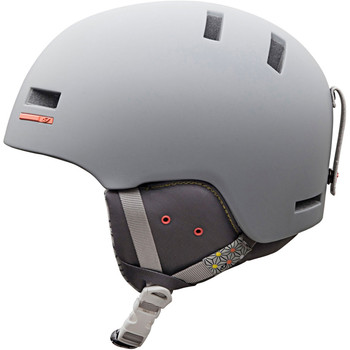 The Giro Shiv is the ultimate park and pipe helmet. It's lightweight, low profile and features an interior subliner. With the most fit and goggle set up options available in a snow helmet, it's up to you to dial it in.
