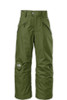 North Face SEYMORE Insulated Boys Ski and Snowboard Pants in Green.