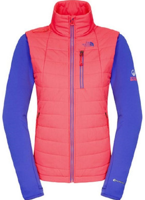 North Face Pemby Womens' Hybrid Jacket can be worn as an exterior shell or a standalone jacket in mild conditions, this hybrid jacket provides ideal insulation during hard-charging ski sessions in challenging weather