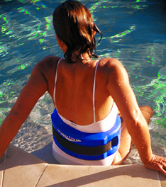 WaterGym Water Exercise Flotation Belt for Water Running and Deep Water Aerobics