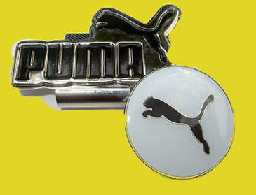 Puma Hat Clip Black With White Background & Logo Japan New Free Martini