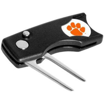 Clemson  Greenbuddy Licensed Switchblade  Divot Tool - Great Divot Tool