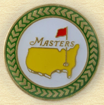 The Masters 2013 Championship Ball Marker - From Augusta / Green Trim