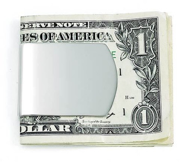 Money Clip Wide - Free Engraving-Name or Initals- Great Gift!