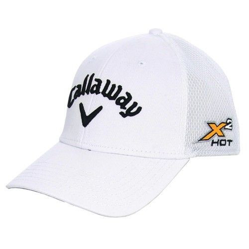 Callaway X2 Hot White Golf Hat Large Ex - Classic Golf of The Carolinas 1f334780519