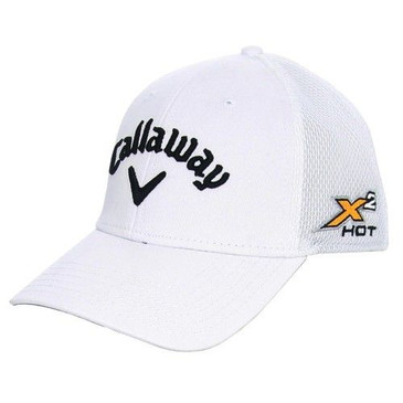 Callaway X2 Hot White Golf Hat Large/Ex Beautiful