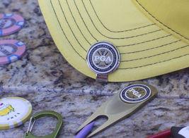 PGA Ball Marker Hat Clip & Divot Tool