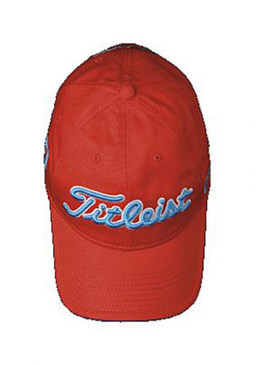 Titleist 14 Orange Contrast Golf Hat