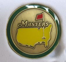 The Masters 2014 Championship Ball Marker - From Augusta / Green Circle