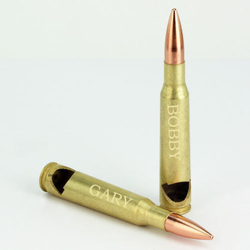 50 Caliber Bottle Opener Great Gift for Shoppers! Great Wedding Gift Engraved