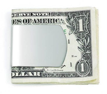 "Wide 1.5"" X 2"" Money Clip, NP"