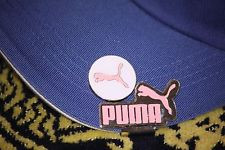 Puma Hat Clip White With a Black Logo background  Japan New Free Martini