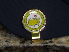 The Masters 2015 Ball Marker and Hat Clip Yellow