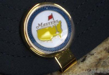 The Masters 2015  Ball Marker and Hat Clip Jordan Spieth Blue