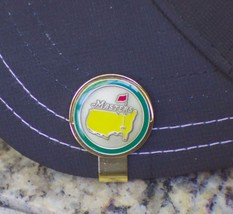 The Masters 2014 Ball Marker and Hat Clip - Green Circle