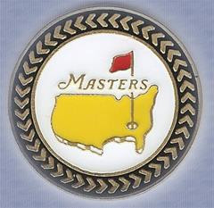 The Masters 2013 Black Trim Ball Marker and Hat Clip- Beautiful