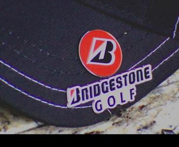 Bridgestone Ball Marker and Hat Clip