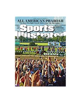 American Pharoah - Triple Crown Winner Frame Ready Matted in Cream