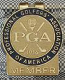 PGA Gold Tab Money Clip