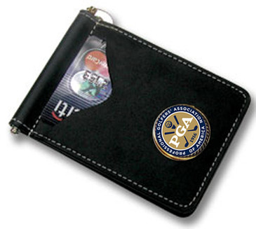 PGA Money Clip Wallet for Credit Cards