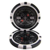 Ultimate Black Poker Chip Ball Markers - Set of Five