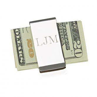 Money Clip /  Free Engraving / One Line