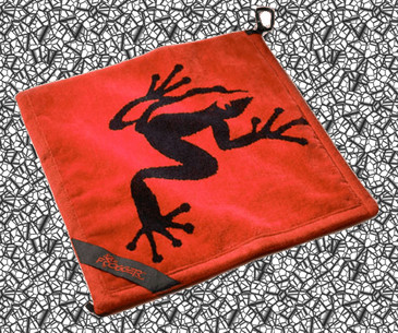 Frogger Golf Towel Red - Product of the Year! 2012
