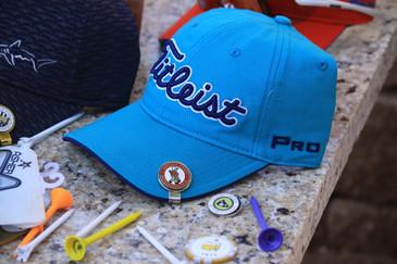 Titleist Tour Fashion - Turq Color - Adjustable Golf Hat